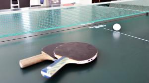 Table tennis facilities at Erunin Hotels Group, Samotechnaya 29A or nearby