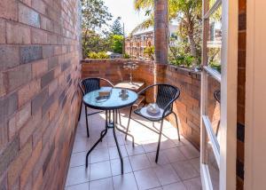 A balcony or terrace at in the Hub of Bondi Beach