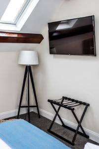 A television and/or entertainment center at The Black Boy Inn