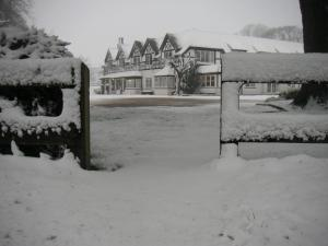 South Lawn Hotel during the winter