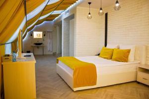 Кровать или кровати в номере Hotel Marton Palace