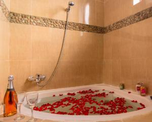 A bathroom at Rayan Apartments & Safaris