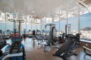 The fitness centre and/or fitness facilities at Residencial Budget