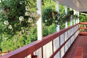 A balcony or terrace at Chatham Travel Lodge