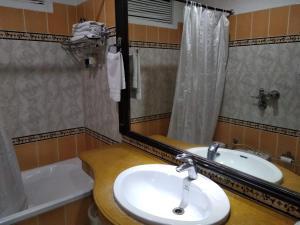 A bathroom at Hotel City Heart Premium