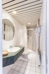 A bathroom at Malecot Boutique Hotel