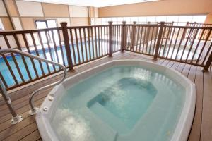 The swimming pool at or close to Legacy Vacation Resorts Steamboat Springs Hilltop