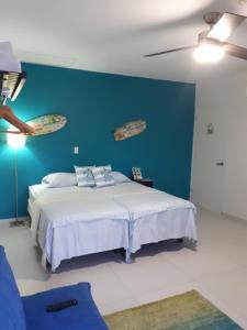 Cama ou camas em um quarto em Flip Flop Apartment 84