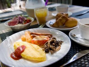 Crown Hotelで提供されている朝食