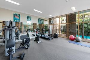 The fitness center and/or fitness facilities at Nesuto Pennant Hills