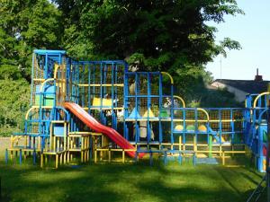 Children's play area at Sventes Muiža