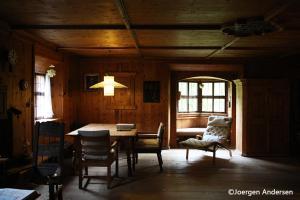 Essbereich in der Lodge