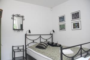 En eller flere senge i et værelse på Engesvang Bed & Breakfast