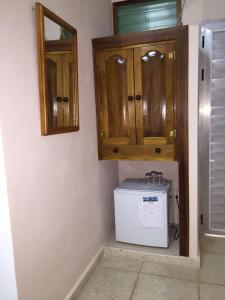 A bathroom at Hostal V&B