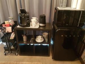 Coffee and tea-making facilities at Rokkheimur