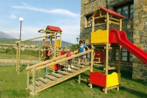 Children's play area at Hotel & SPA Peña Montañesa