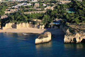A bird's-eye view of Vilalara Thalassa Resort