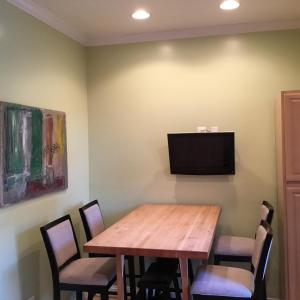 A television and/or entertainment center at Beautiful in Bloomingdale!