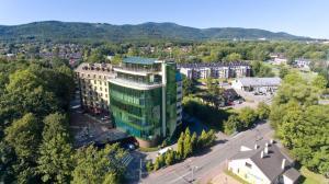 Widok z lotu ptaka na obiekt Parkhotel Vienna