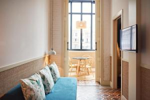 Een zitgedeelte bij Hotel Casa Bonay