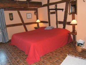 Un ou plusieurs lits dans un hébergement de l'établissement Gitehaushaltermerkwiller