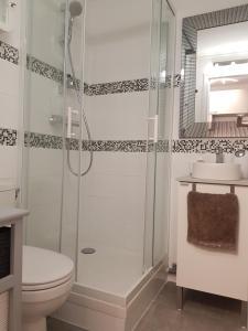 A bathroom at Studio entièrement meublé