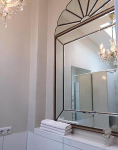 Koupelna v ubytování Gästehaus im Herzen von Hittfeld