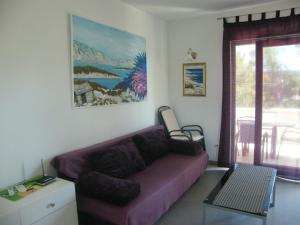 Гостиная зона в Apartments Maslina
