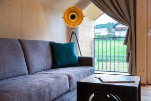 Ein Sitzbereich in der Unterkunft Haus Christophorus