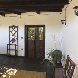 A television and/or entertainment center at La Casa Grande Del Valle