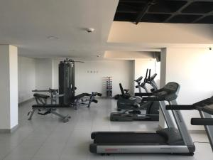 The fitness center and/or fitness facilities at Flat Paiva Home Stay