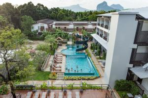 A view of the pool at Aonang Viva Resort or nearby