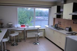 A kitchen or kitchenette at Podmoskovye