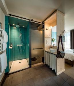 A bathroom at Marias Platzl