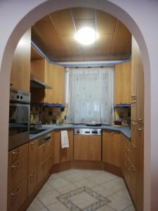 Kuchyň nebo kuchyňský kout v ubytování Liesingbachstraße 151/5 Ferienwohnung
