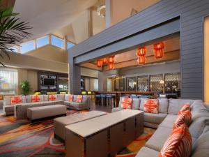 The lounge or bar area at Marriott's Cypress Harbour Villas