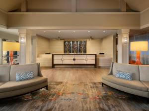 The lobby or reception area at Marriott's Cypress Harbour Villas