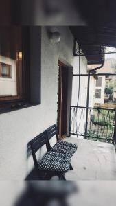 A balcony or terrace at Apartments Konak