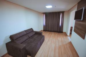 A seating area at Rota Hotéis Mineiros