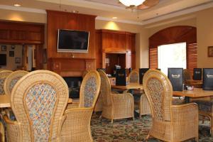 Uma área de estar em Monumental Hotel Orlando