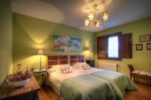 Cama o camas de una habitación en Casa Ramiras