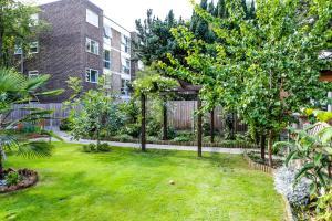 A garden outside Beckenham Park Hotel