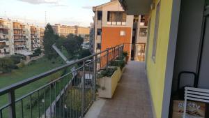 A balcony or terrace at Zen Apartment