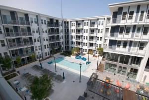 A view of the pool at BCA Furnished Apartments or nearby