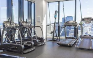 The fitness center and/or fitness facilities at Captain Homes Collins Street -Ocean View