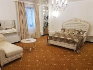Кровать или кровати в номере Sequoia Boutique Hotel