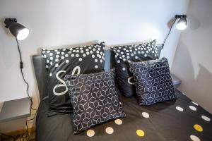 Un ou plusieurs lits dans un hébergement de l'établissement Appartement Cosy 2 Amiens