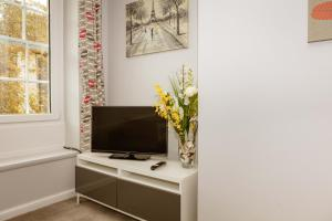 A television and/or entertainment center at Stirling Central Apartment