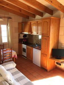 Una cocina o zona de cocina en Agroturismo Biniatram
