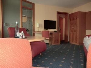 TV/Unterhaltungsangebot in der Unterkunft Hotel Altenberg